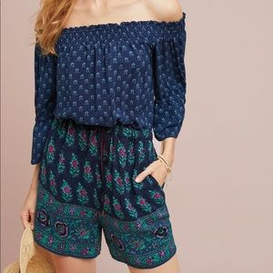 Anthropologie Kaleo Romper